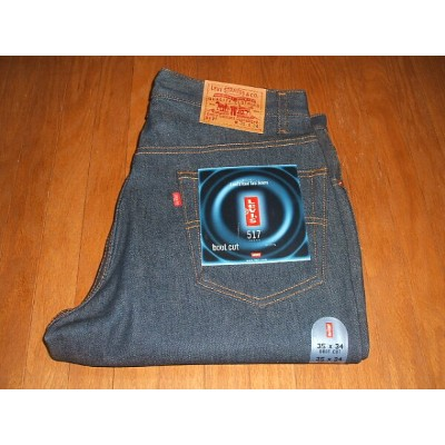 LEVIS(リーバイス) 517 ブーツカット Lot 517-0217 1990年代 MADE IN USA(アメリカ製) 実物デッドストック W35×L34