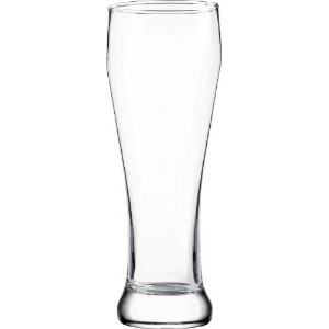 ITI 393 Pilsner Beer Glasses、20-ounce、24ピース、クリア