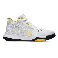 "Nike Kyrie 3 ""N7"" キッズ/レディース White/Varsity Maize/Black ナイキ カイリー3 Kyrie Irving カイリー・アービング"