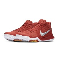 "Nike Kyrie 3 ""University Red"" メンズ University Red/University Red-Wolf Grey ナイキ カイリー3 Kyrie Irving..."