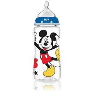 ヌーク ディズニー ミッキーマウス 300ml 哺乳瓶 NUK 62049 Disney Baby Bottle with Perfect Fit Nipple Mickey Mouse 240ml...