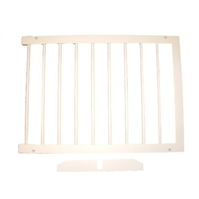 Cardinal SGX-WH Step Over Pet Gate Extension - White