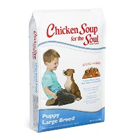 Chicken Soup for The Soul Puppy Large Breed Dry Dog Food Pet Formulated 15lbs