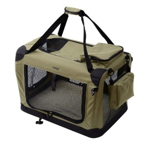 MDOG2 Portable Soft Crate, 32 by 23 by 23-Inch, Large, Sage Green by MDOG2