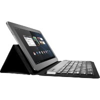 KeyFolio Expert Folio Keyboard, For Android/Windows 7 Tablets, Black