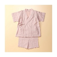 【SALE(三越)】 COMME CA FOSSETTE/コムサ・フォセット  ストライプ甚平(2060XZ02) ライトピンク 【三越・伊勢丹/公式】 衣服~~その他