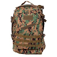 BACK PACK, GI SPEC 3-DAY MILITARY GI 3デイミリタリーバックパック D.ウッドランド