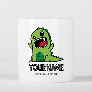 Customized Cute Baby T-Rex Dinosaur Expert Children Kids Personalised 貯金箱