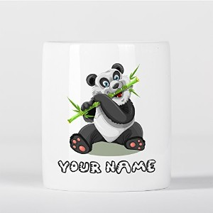 Customized Panda Bamboo Children Kids Personalised 貯金箱