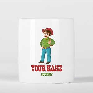 Customized Cowboy Western Texas Children Kids Personalised 貯金箱