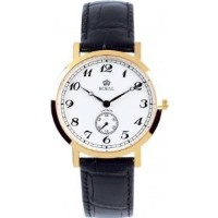 Royal London 40006-03 Mens Classic Black and Gold Watch【並行輸入】