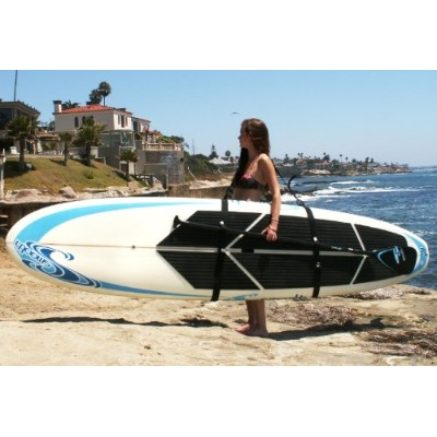 Big Board Schlepper Stand Up Paddleboard Easy Carry Strap SUP Shoulder Sling Board Carrier by...