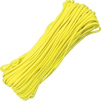 Parachute Cord Yellow 100 ft