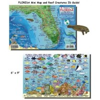 Franko Maps Florida State Reef Creatures Fish ID for Scuba Divers and Snorkelers by Unknown