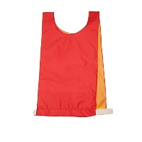 Olympia Sports PC175P Reversible Pinnie - Red-Yellow