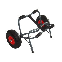 Gear Up Extreme HD Kayak Cart, Silver/Black by GearUp