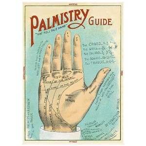 Cavallini Decorative Paper - Palmistry 20x28 Sheet by Cavallini Papers & Co.