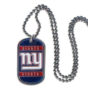 Siskiyou Sports FTN090 New York Giants Tag Necklace