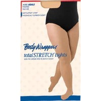 BodyWrappers ボディラッパーズ 大きめバレエタイツ total STRETCH tights A30X (ジャジータン, 1X-2X)