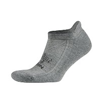 Balega Hidden快適Athletic No Show Running Socks for Men and Women withシームレスつま先 L グレー
