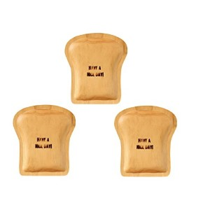 PAN MAISON WOOD BREAD TRAY パンメゾン ウッドブレッドトレイ《3枚セット》 (HAVE A NICE DAY×3)