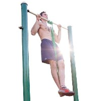 Rubberbanditz Pull Up / CrossFit Band - Power - 50 - 120 lbs. (23 - 54 kg) - Resistance with Pullup...