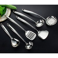 SUMCOO Stainless Steel Kitchen Cooking Gadget Utensil Set , FDA Approves Kitchen Cooking Tool Set...