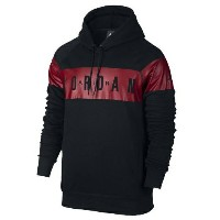 Jordan Jumpman Brushed Pull Over Graphic Hoodie メンズ Black/Gym Red パーカー ジョーダン