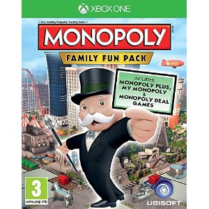 Monopoly Family Fun Pack (Xbox One) (輸入版)