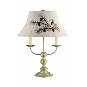AHS Lighting L1459-U1 Bayfield Floor Pinecone Shade Lamp by AHS Lighting