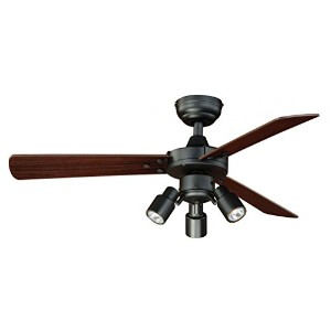 Vaxcel F0020 Cyrus Ceiling Fan, 42, Dark Bronze Finish by Vaxcel