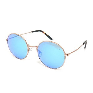 SABRE SUNGLASS(セイバー)サングラス JEREMY・MATTE GOLD METAL/BLUE MIRROR