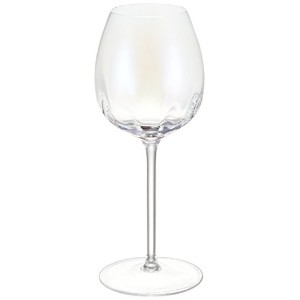 G1332-12-401 PEARL WHITE WINE GLASS SET4  LPE02 LPE02