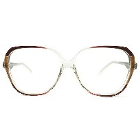 ORIGINAL デッドストック 1970s-1980s 英国製 HAND MADE IN ENGLAND オリバーゴールドスミス ORIVER GOLDSMITH RED×BROWN MODERN...