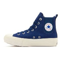 【レディースシューズ】【CONVERSE】ALL STAR PLTS SIDEGORE HI 32990495 NAVY【70】