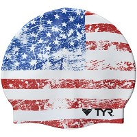 TYR Old Glory Flag水泳キャップ