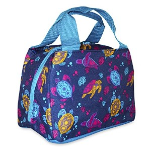 Ever Moda Insulated Lunch Toteバッグコレクション One Size ブルー LPD8010DB