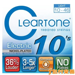 Cleartone 9410 エレキギター弦 ライトゲージ 010-046 【クリアトーン】