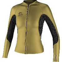 オニール レディース サーフィン スポーツ O'riginal Full-Zip Jacket - Women's Gold/Black/Silver