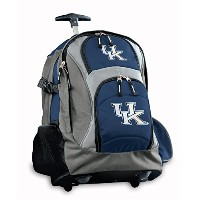 Kentucky Wildcats RollingバックパックまたはUK Carryonスーツケースバッグ公式NCAAバッグ