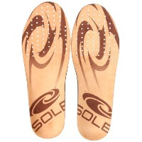 SOLE Thin Casual Footbeds, Brown, 7 M US by SOLE