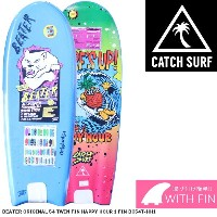CATCH SURF Beater Original 54 Twin Fin Happy Hour 1 Fin BO54T-HH1 キャッチサーフ ビーター ソフトボード トイボード サーフボード...