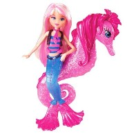 バービー Barbie In A Mermaid Tale Seahorse Stylist Doll - Pink ドール 人形 フィギュア