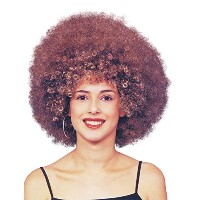 Bristol Novelty Beyonce Afro Wig. Brown Wigs - Women's - One Size