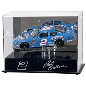 Rusty Wallace 1/ 24th Die Cast Display Case withプラットフォーム