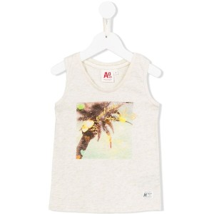 American Outfitters Kids - プリント タンクトップ - kids - コットン/ルレックス - 4歳