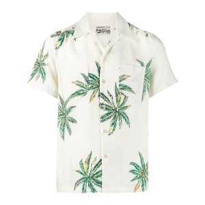 Wacko Maria - Palms Hawaiian シャツ - men - レーヨン - S
