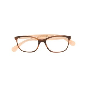 Oliver Peoples - Follies べっ甲柄 眼鏡フレーム - women - アセテート - 51