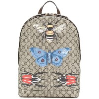 Gucci - GG Supreme backpack - men - レザー/ナイロン - ワンサイズ