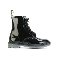 Dr. Martens - Pascal ブーツ - women - エナメルレザー/ナイロン/ポリウレタン/rubber - 40